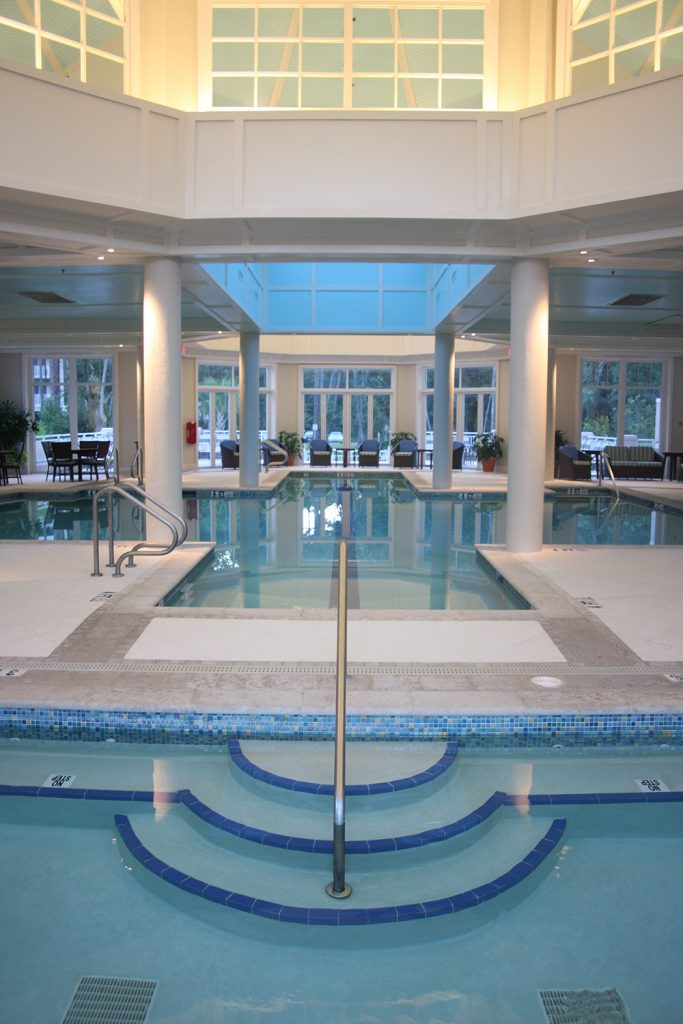 Marriott Surfwatch Indoor Pool And Spa Aqua Blue Pools