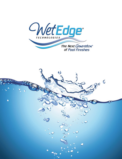 Wet Edge The Next Generation Interior Finishes
