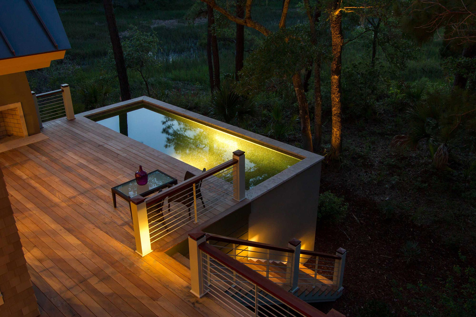 Elevated Pool, a unique swimming pool design