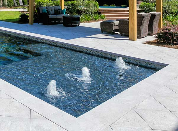 Residential Water Features | Aqua Blue Pools