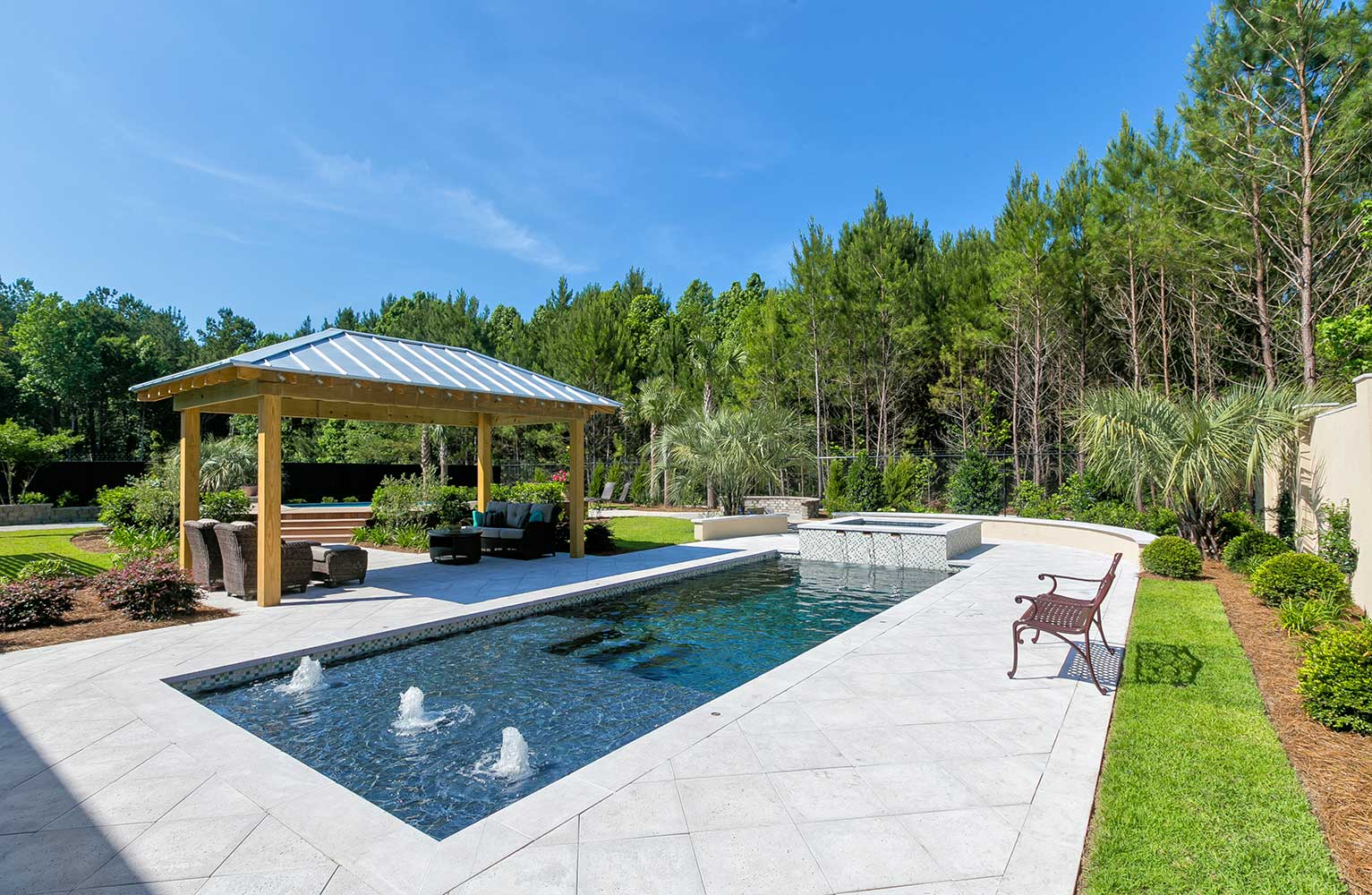 Design services aqua blue pools for Pool design services
