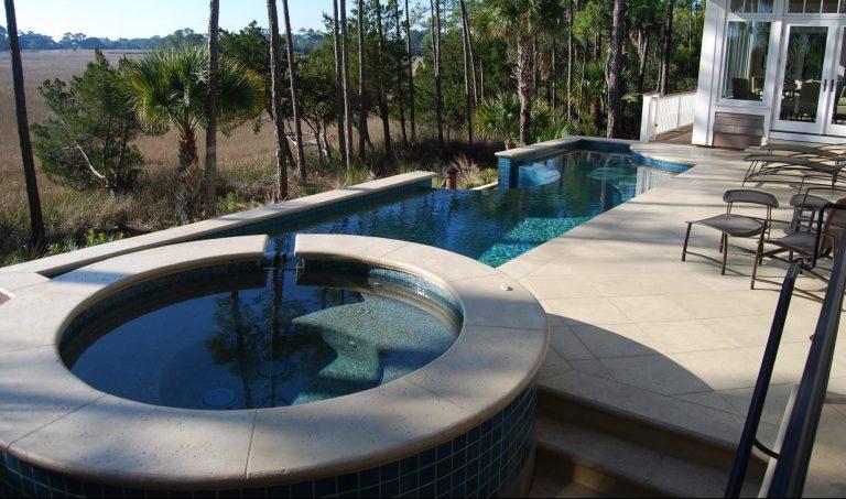 Water Features Aqua Blue Pools
