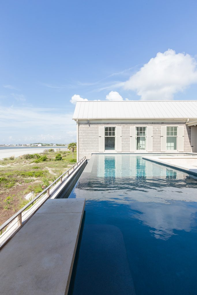 Infinity Pool Project With Baja Ledge On Isle Of Palms