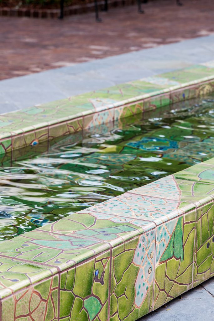 Theodore Park Reflecting Pool Aqua Blue Pools Custom