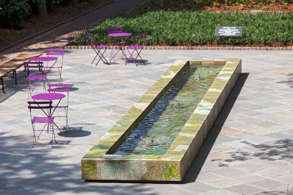 Theodore Park Reflecting Pool Aqua Blue Pools Custom