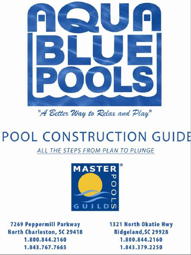 Aqua Blue Pools Construction Guide