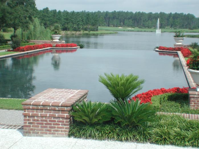 Infinity Reflecting Pool in Bluffton, SC
