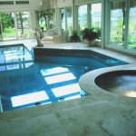 Indoor Outdoor Pool Spa Combo