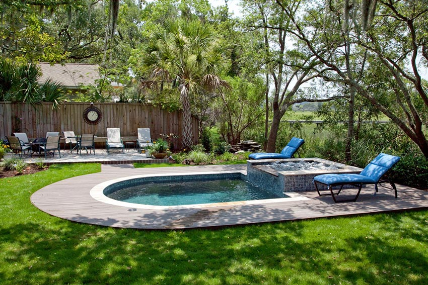 Pool Spa Combo Renovation