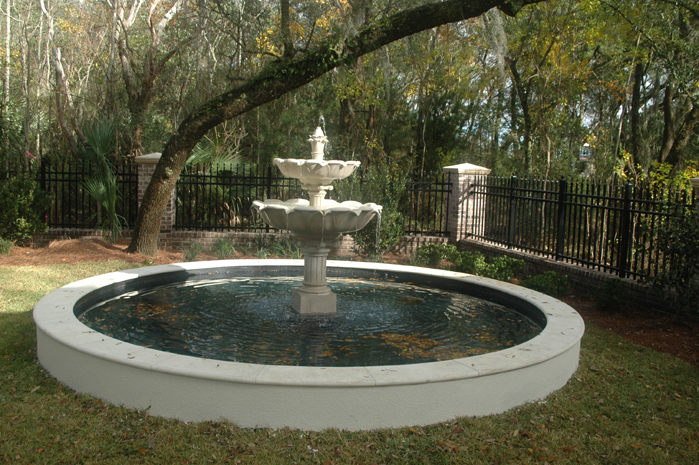 Residential Fountain in Daniel Island, SC