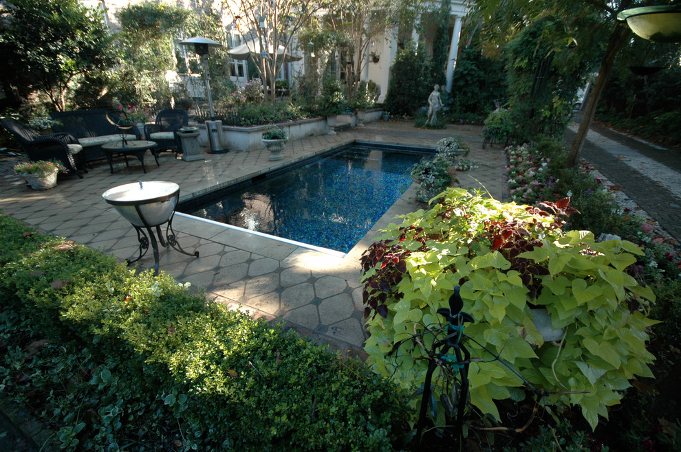 Downtown Charleston Garden Pool Aqua Blue Pools