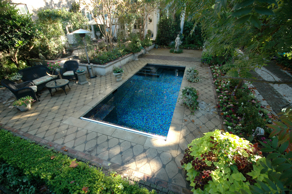 Downtown Charleston Garden Pool Aqua Blue Pools