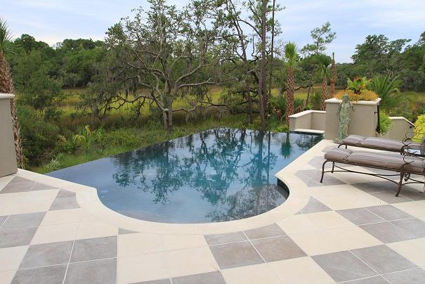 residential infinity pool. Interesting Pool Vanishing Edge Spa Design Daniel Island SC Throughout Residential Infinity Pool