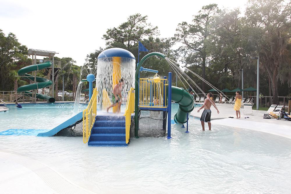 Beach Entry Pools Aqua Blue Pools