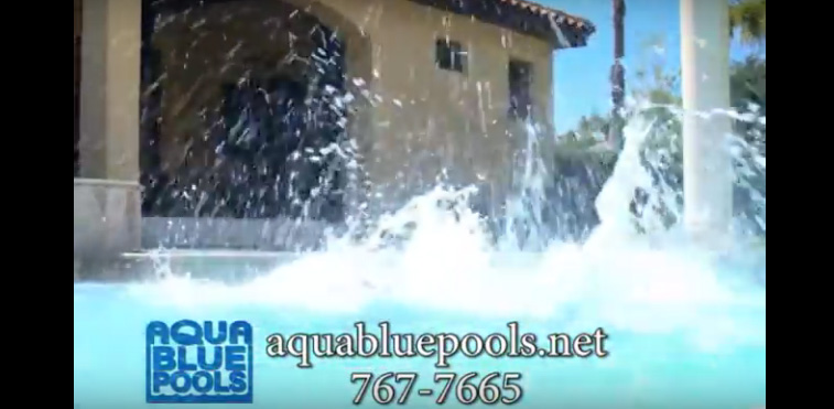 Aqua Blue Pools Commercial Screenshot