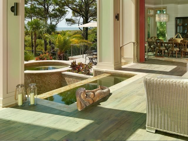 Luxury Custom Pool with Spa