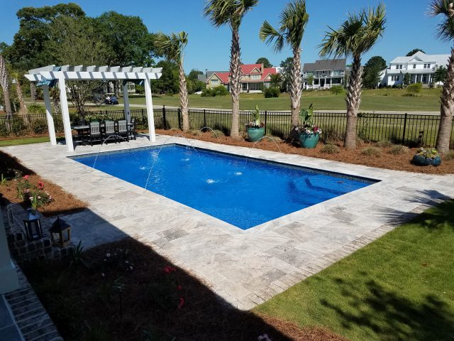 Fiberglass Pool Builders South Carolina | Aqua Blue Pools