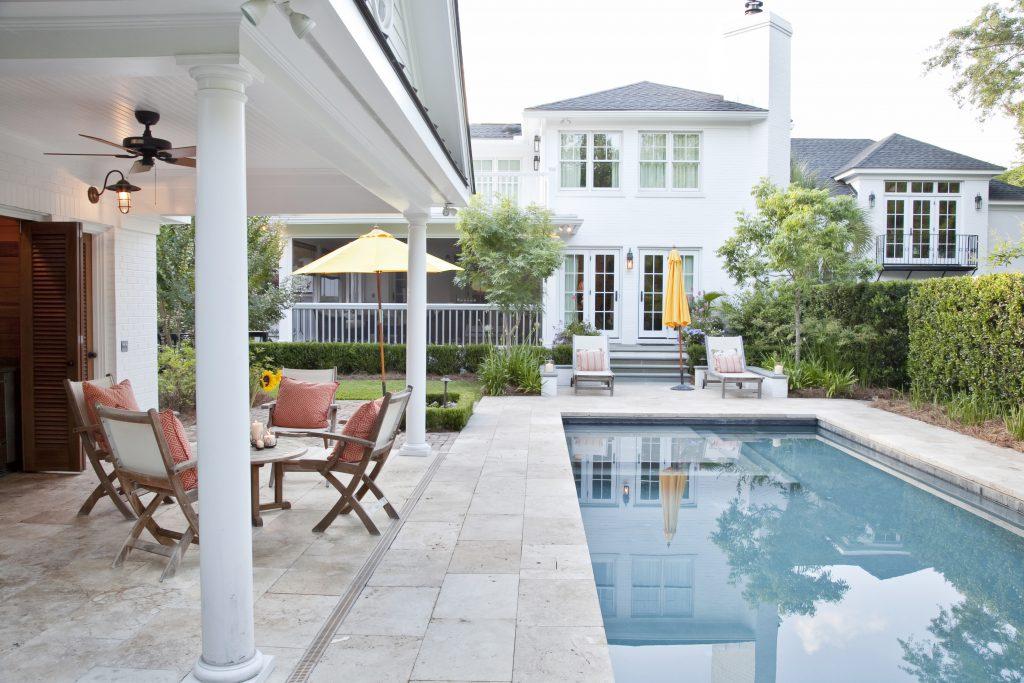 Custom Inground Pool with steps