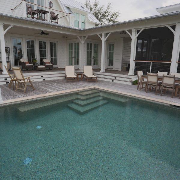 Elevated Backyard Pool