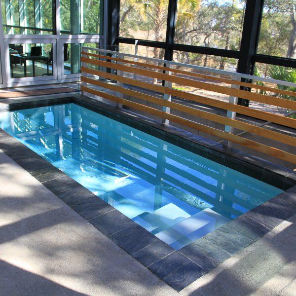 Geometric Plunge Pool