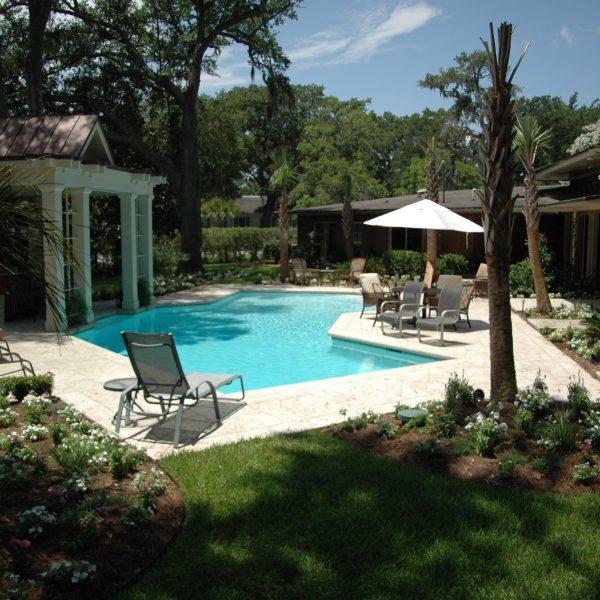 Family Swimming Pool - Geometric Design