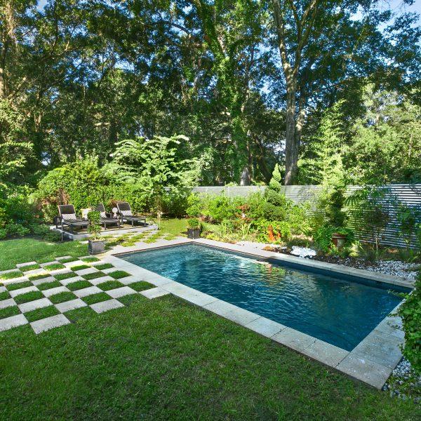 Custom Backyard Pool