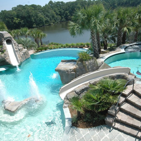 Pool Waterfalls Amp Pool Fountains South Carolina Sc Aqua
