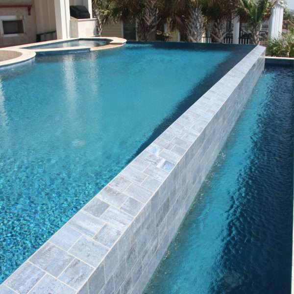 Geometric Pool with Custom Infinity Edge