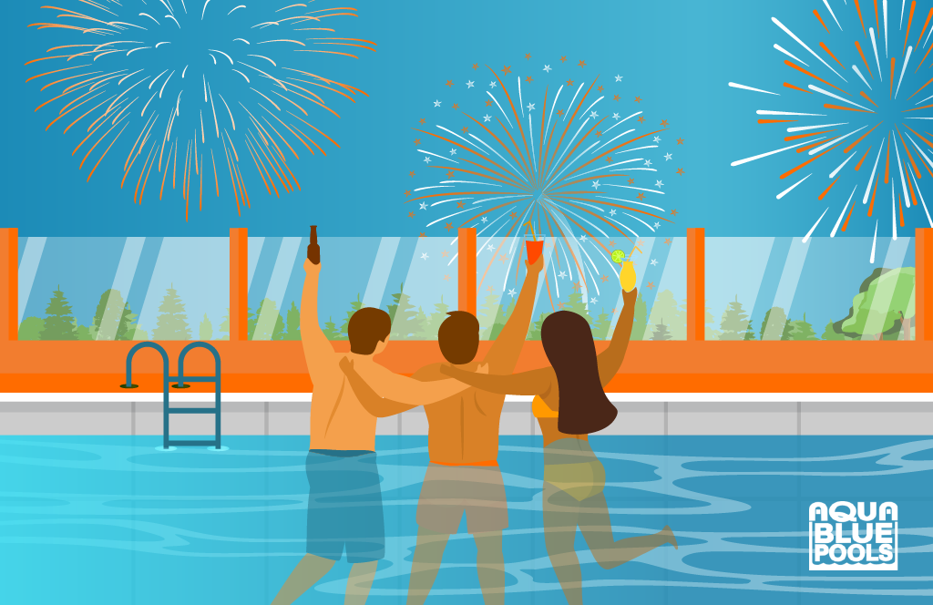 Decorate your Pool for New Year