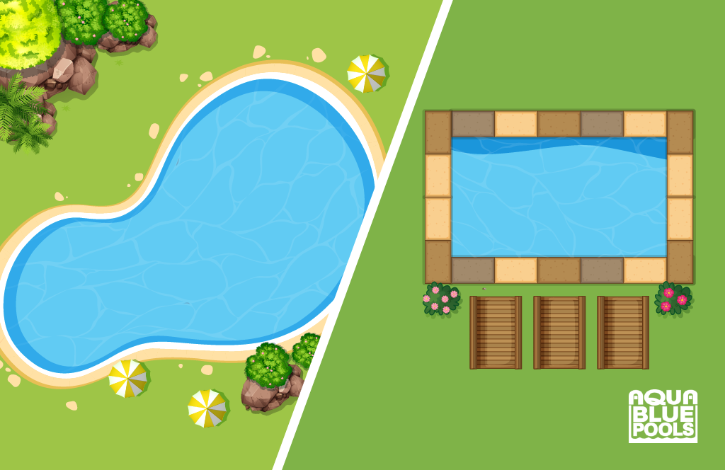 Pool Feature surrounding your pool